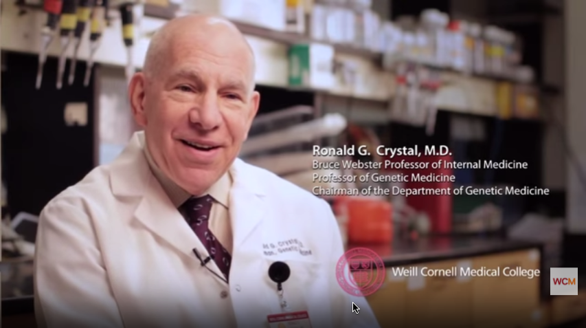 Dr. Ronald Crystal Video
